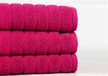 Рушник для ніг Maisonette Rainbow 60*60 фуксія 850г/м2 - фото 23838