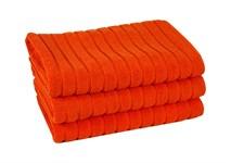 Рушник для ніг Maisonette Rainbow 60*60 помаранчевий 850г/м2 - фото 23840