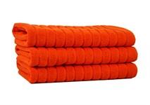 Рушник для ніг Maisonette Rainbow 60*60 помаранчевий 850г/м2 - фото 23842