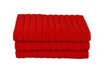 Рушник для ніг Maisonette Rainbow 60*60 червоний 850г/м2