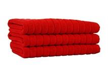 Рушник для ніг Maisonette Rainbow 60*60 червоний 850г/м2 - фото 23846