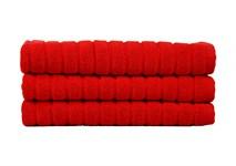 Рушник для ніг Maisonette Rainbow 60*60 червоний 850г/м2 - фото 23847