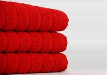 Рушник для ніг Maisonette Rainbow 60*60 червоний 850г/м2 - фото 23848
