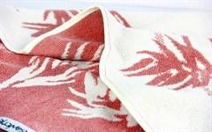 Рушник махровий Maisonette Bamboo Leaf 50*100 т.рожевий 500 г/м2 - фото 23877
