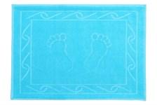 Рушник для ніг Hayal 50*70 блакитний аква 700г/м2