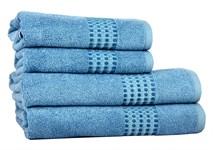 Рушник махровий Maisonette Classy 50*100 синій 460 г/м2 - фото 24027