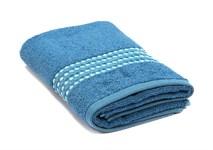 Рушник махровий Maisonette Classy 50*100 синій 460 г/м2 - фото 24029