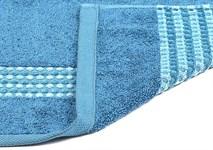 Рушник махровий Maisonette Classy 50*100 синій 460 г/м2 - фото 24031