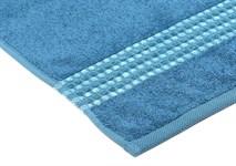 Рушник махровий Maisonette Classy 50*100 синій 460 г/м2 - фото 24032