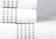Рушник махровий Maisonette Classy 50*100 білий 460 г/м2 - фото 24034