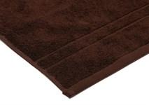 Рушник махровий Maisonette Gold 50*100 т.коричневий 450 г/м2 - фото 24103