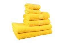 Рушник RAINBOW K.Sari 50х90 жовтий 500г/м2 - фото 24191