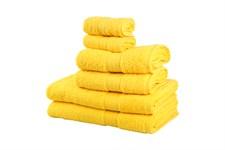 Рушник RAINBOW K.Sari 50х90 жовтий 500г/м2 - фото 24192