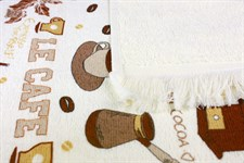 Рушник махровий Ле Кафе 40*60 350г/м2 - фото 24300