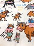 Рушник махровий Веселий бик 40*60 350г/м2 - фото 24310