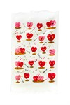 Рушник махровий Кохання рожевий 40*60 350г/м2