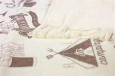 Рушник махровий Літо 40*60 бежевий 350г/м2 - фото 24339
