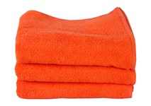 Рушник махровий Maisonette Izzy 34*80 помаранчевий 420 г/м2