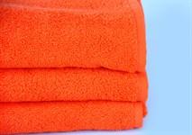 Рушник махровий Maisonette Izzy 34*80 помаранчевий 420 г/м2 - фото 24355
