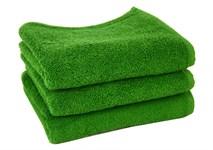 Рушник махровий Maisonette Izzy 34*80 зелений 420 г/м2 - фото 24356