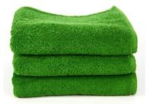 Рушник махровий Maisonette Izzy 34*80 зелений 420 г/м2