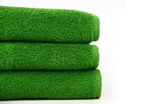 Рушник махровий Maisonette Izzy 34*80 зелений 420 г/м2 - фото 24359