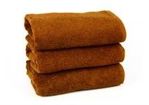 Рушник махровий Maisonette Izzy 34*80 коричневий 420 г/м2