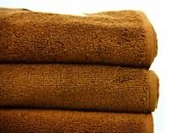 Рушник махровий Maisonette Izzy 34*80 коричневий 420 г/м2 - фото 24363