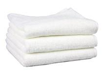 Рушник махровий Maisonette Izzy 34*80 білий 420 г/м2