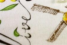 Рушник махровий Оливки 30*50 350г/м2 - фото 24406