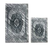Набір килимків Ella 60*100+40*60 EL1 GRI - фото 25075