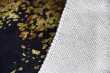 Набір килимків Ella 60*100+40*60 EL2 MERMER SIYAH GOLD - фото 25081