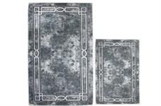 Набір килимків Ella 60*100+40*60 EL5 GRI - фото 25108
