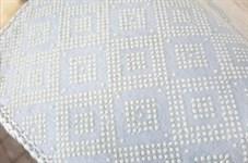 Набір килимків Ella 60*100+40*60 EL7 PUDRA DESENLI - фото 25127