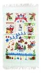 Набір рушників махр Новий Рік №22 40*60 2шт в кор. - фото 25805