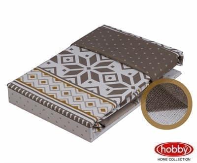 Hobby Poplin Carla коричневий  2*160*220/2*50*70 - фото 6200