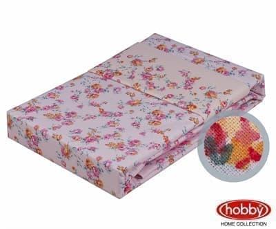 КПБ Hobby Poplin Luisa рожевий 2*160*220/2*50*70 - фото 6208