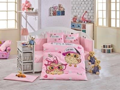 КПБ Hobby дит. Cool Baby рожевий 100*150/2*35*45