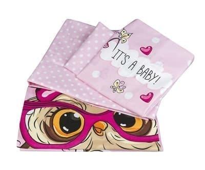 КПБ Hobby дит. Cool Baby рожевий 100*150/2*35*45 - фото 6229