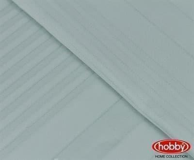 КПБ Hobby Exclusive Sateen Diamond Stripe м'ята 200*220/4*50*70 - фото 6296