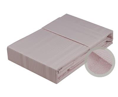 Hobby Exclusive Sateen Diamond Stripe пудра 200*220/4*50*70 - фото 6298