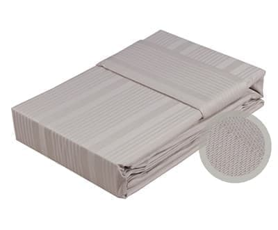 КПБ Hobby Exclusive Sateen Diamond Stripe капучіно 2*160*220/2*50*70+2*70*70 - фото 6307