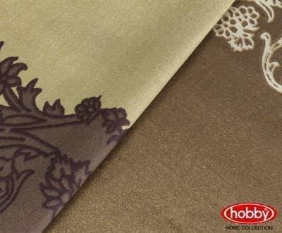 Hobby Exclusive Sateen Filomena коричневий 200*220/4*50*70 - фото 6336