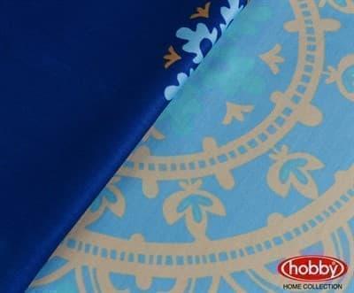 КПБ Hobby Exclusive Sateen Ottoman блакитний 2*160*220/2*50*70+2*70*70 - фото 6392
