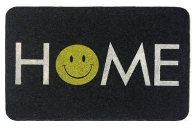 Килимок придверний MEGAN 40*60 GRI HOME SMILE