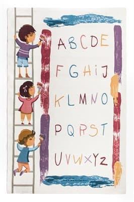 Килимок д/дитячої кімнати ARAGON 60*90 №501 (abc)