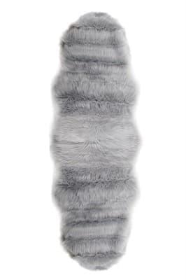 Килимок штучне хутро ALASKA POST 60*180 GRI