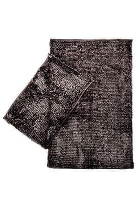 Набір килимків LILO 40*60+60*100 DARK GREY