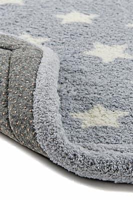 Набір килимків LUX SUFFY 40*60+60*90 YILDIZLI GRI - фото 6717