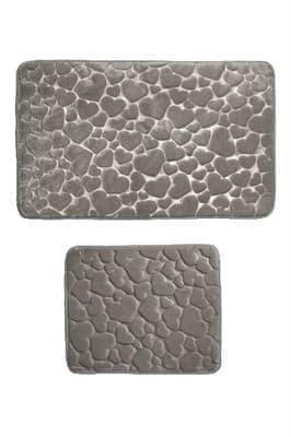 Набір килимків SAMOS 50*60+60*100 GRI KALP